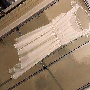 White small dress